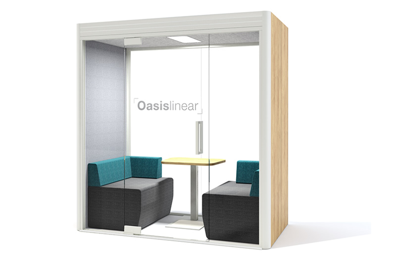 Linear Duo Office Pod