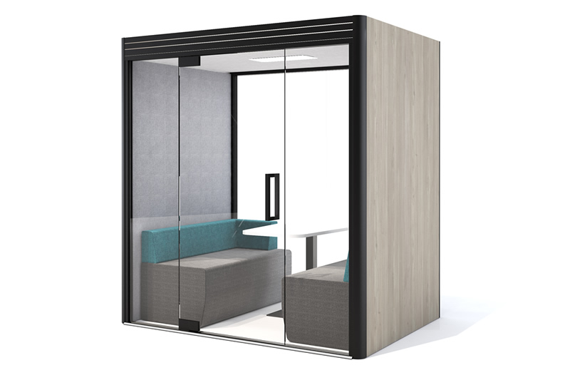 Linear Team Office Pod