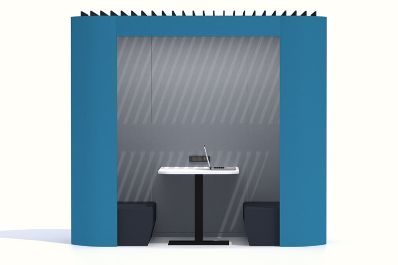 oasis soft duo acoustic office booth