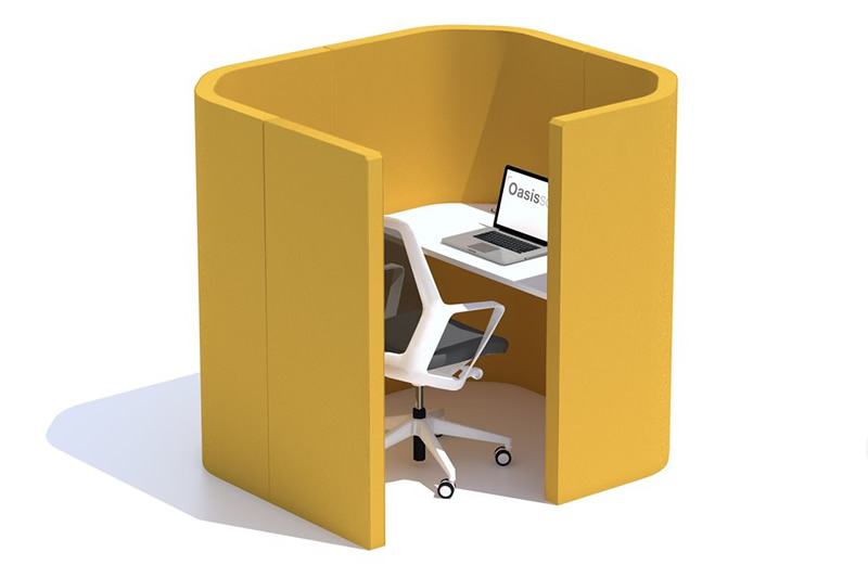 Oasis Berco Build Custom Booths Hubs And Office Pods