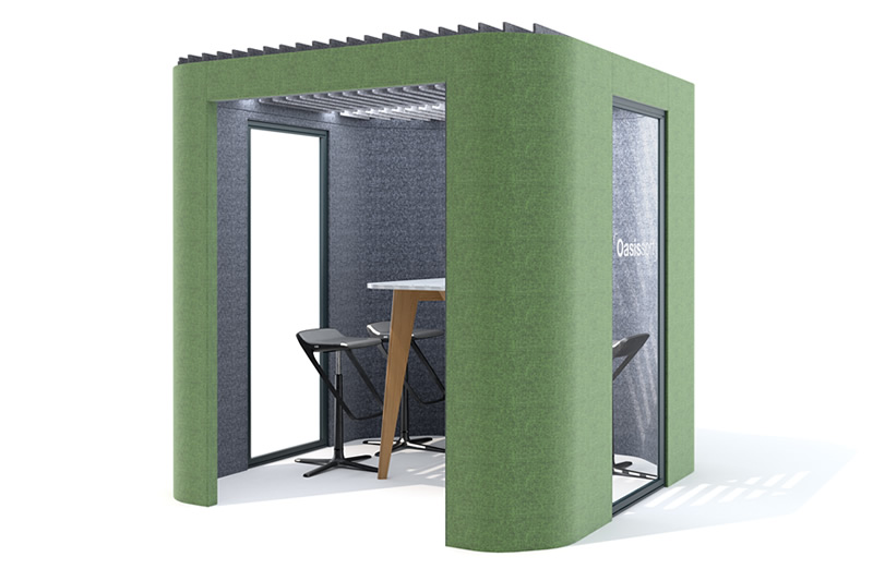 oasis soft team booth furniture