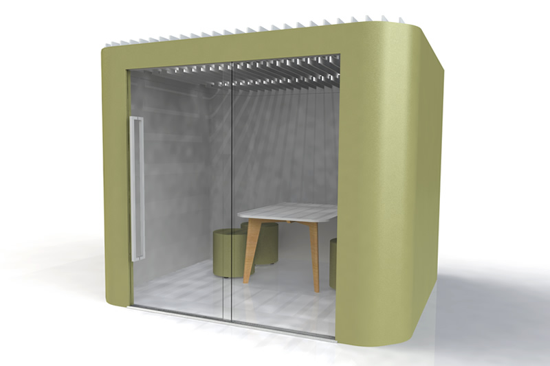 oasis soft team office pod