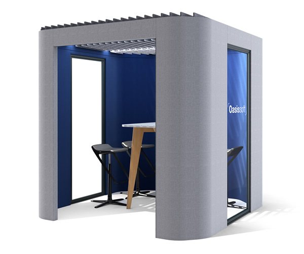 Oasis Soft Office Privacy Booth