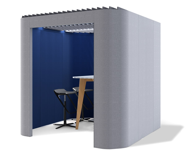 Oasis Soft Privacy Booth